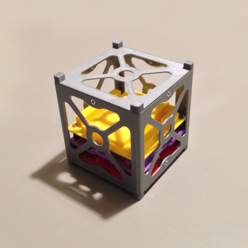 Maquette de cubesat 1U