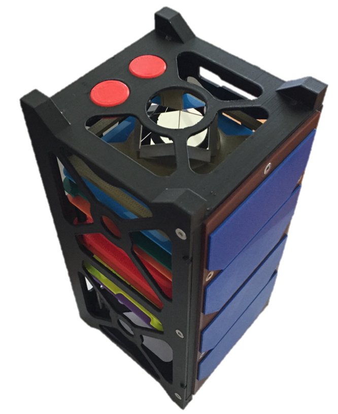 Maquette de cubesat 2U